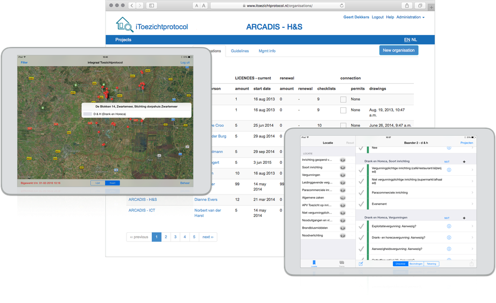ARCADIS iPad-survey tool